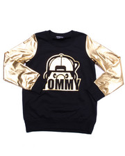 Girls - LIL' TOMMY GOLDEN SWEATSHIRT