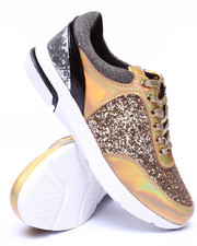 Fashion Lab - Hayes Glitter Track Sneaker