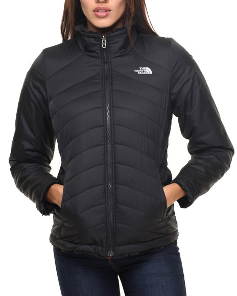 The North Face - Women Black Women's Mossbud Swirl Reversible Jacket