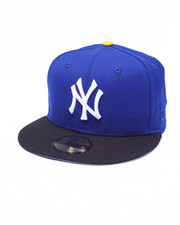 New Era - New York Yankees Royal Custom 59Fifty Fitted Cap