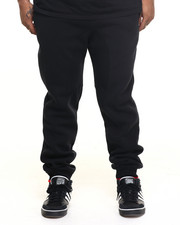 Pants - Fleece Jogger Pants w/ Contrast Trim (B+T)