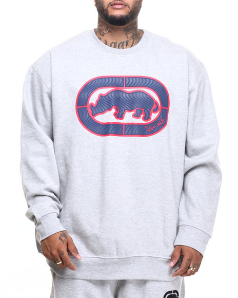 Ecko - Men Grey Linticular Rhino L/S Sweatshirt (B&T) - $22.99