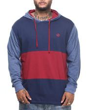 Men - Mr Krab L/S T-Shirt Hoodie (B&T)