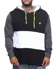 T-Shirts - Mr Krab L/S T-Shirt Hoodie (B&T)