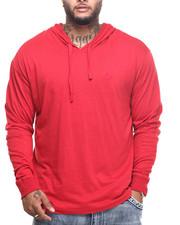 T-Shirts - Puff L/S T-Shirt Hoodie (B&T)