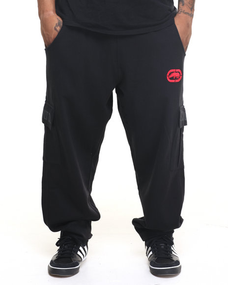 Ecko - Men Black Recruit Cargo Jogger (B&T)