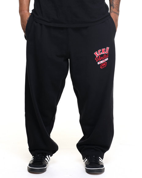 Ecko - Men Black Rhino Club Fleece Sweatpant (B&T)