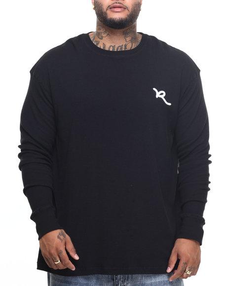Rocawear - Men Black Script Solid Thermal (B&T)