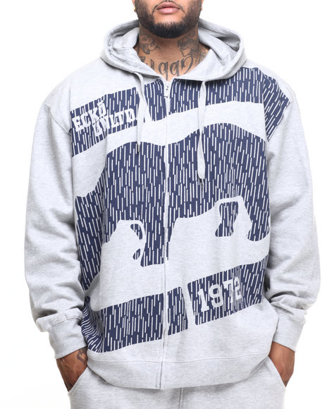Ecko - Men Grey Unbreakable Zip Hoody (B&T) - $64.00