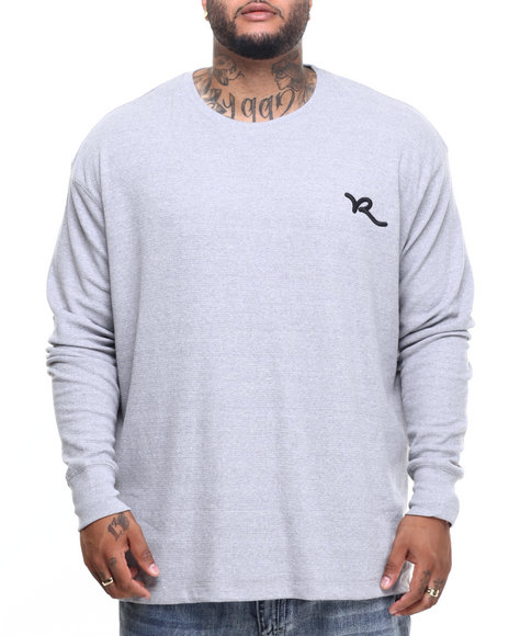 Rocawear - Men Grey Script Solid Thermal (B&T)