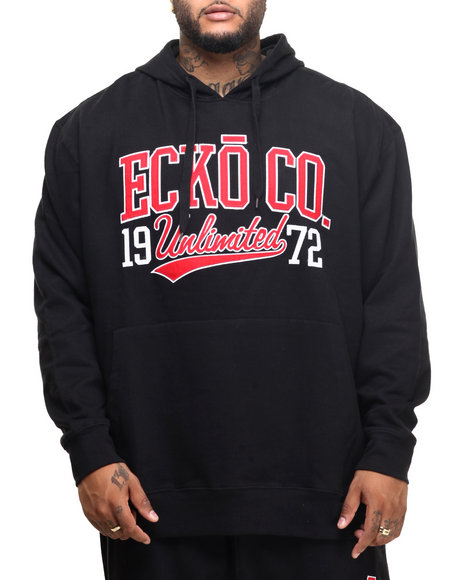 Ecko - Men Black Unltd Wave Pop Hoodie (B&T)