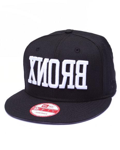 New Era Men Nyc Borough Bronx Custom 9Fifty Snapback Cap Black