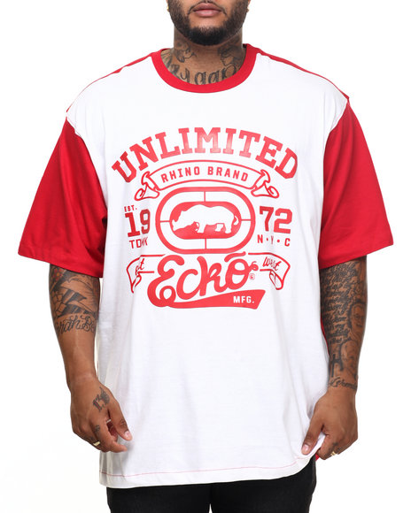 Ecko - Men Red Streets R Us T-Shirt (B&T) - $36.99