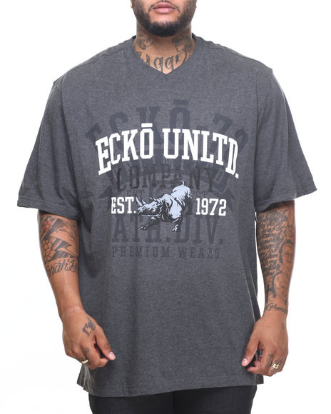 Ecko - Men Charcoal Company 72 T-Shirt (B&T)