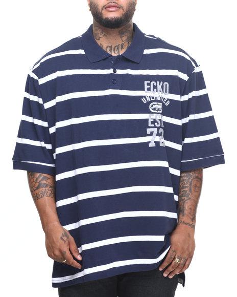 Ecko - Men Navy Membership Polo (B&T)