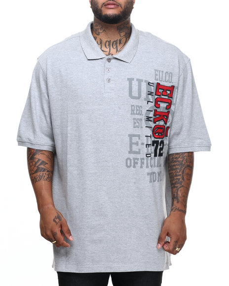 Ecko - Men Grey East Side Polo (B&T) - $54.00
