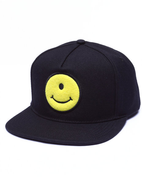 Uxa Men Cyclops Snapback Cap Black - $32.00