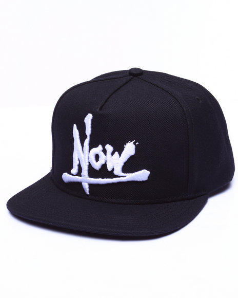 Uxa Men Now Snapback Cap Black - $32.00