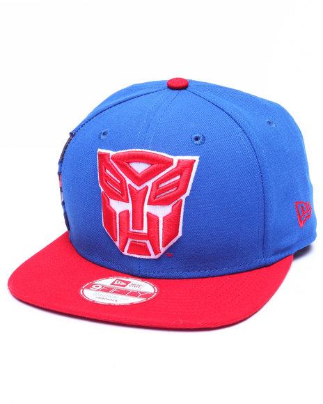 New Era Men Autobots Hasbro Hero Sider 950 Snapback Hat Blue