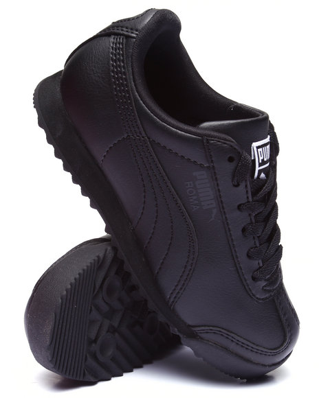 Puma - Boys Black Roma Basic Jr Sneakers (11-7) - $47.00
