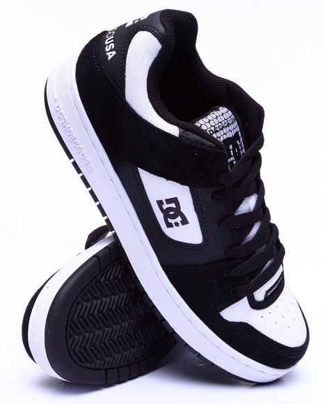 Dc Shoes - Men Black Manteca Iconic Sneaker