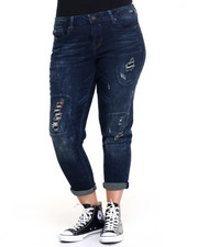 "Women - Bowery BF 27"" DBL Roll Jean (Plus)"