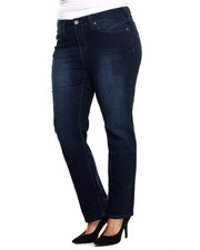 Bottoms - Nolita Hydra-lift Curvy Straight Leg Ultra Denim Jean (plus)