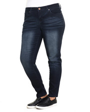 Bottoms - Gramercy Super Skinny Modal Jean (Plus)