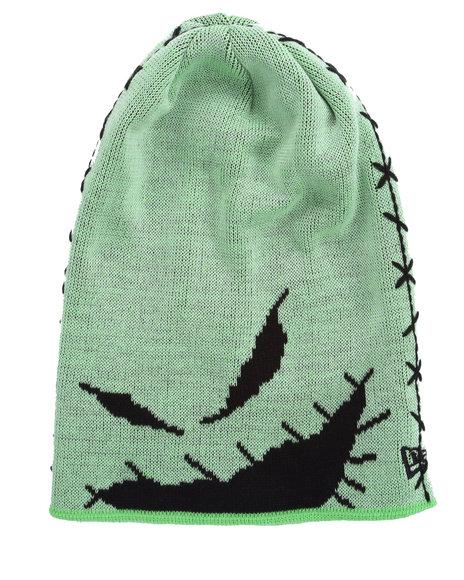 New Era Men The Nightmare Before Christmas Glow Dart Knit Hat (Glow In Green 1SZ