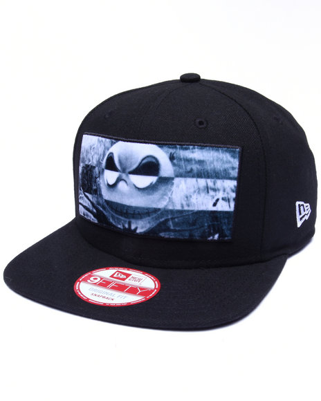 New Era Men The Nightmare Before Christmas Silk Screen 950 Snapback Black
