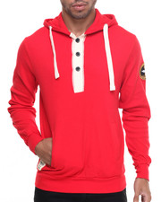 Hoodies - K G Knit Buttoned Hoodie