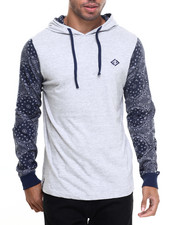 Men - Daz L/S T-Shirt Hoodie