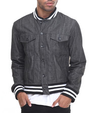 Outerwear - Baseball Denim Jacket