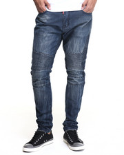 Buyers Picks - Square Zero Crinkle - Wash Moto - Style Denim Jeans
