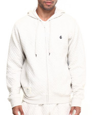 Men - Roc Diamond Quilted Pullover Hoodie