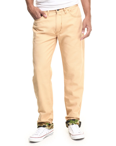 Rocawear - Men Light Brown Lifetime 2 Jeans
