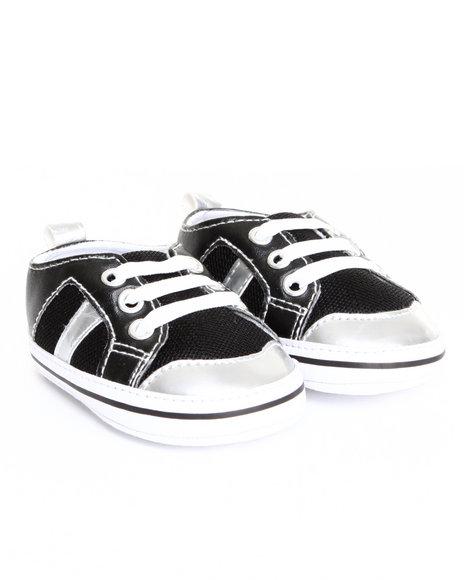 Drj Baby Heaven Shop Boys Cuteness Mesh Sneaker (6-9M) Black 6-9 Mo