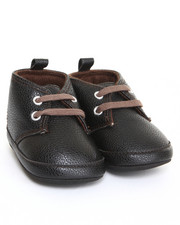 Footwear - Pebbled Chukka Booty Sneaker (9-12m)
