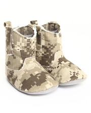 Black Friday Shop - Girls - Camo Canvas Cowboy Boot (0-6m)