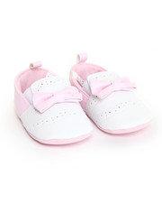 Black Friday Shop - Girls - Pink Pu Smooth w/ Perfs Shoe (9-12m)