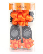 Black Friday Shop - Girls - Satin Bow Headband/Bootie Gift Set (0-12m)