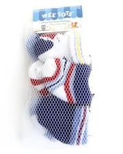 Cyber Monday Shop - Boys - Argyle Terry Turn Cuffs 6 Pk Socks (0-12m)