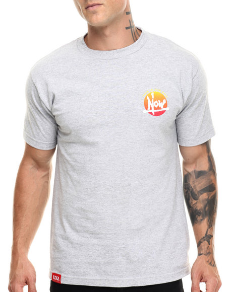 Uxa - Men Grey Now Tee - $28.00