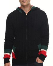Men - Carlton Zip Front Hooded Sweater