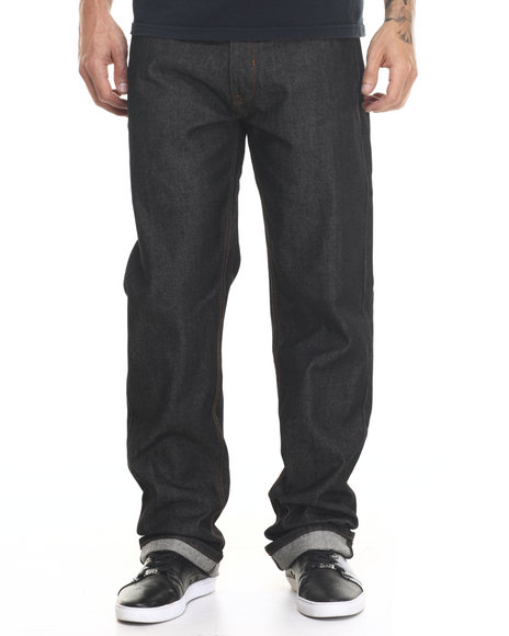 Rocawear - Men Black Volume Classic Fit Jeans