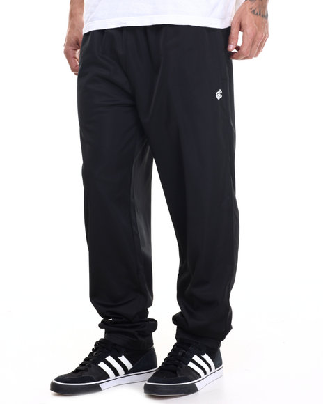 Rocawear - Men Black Campus Track Pants - $20.99