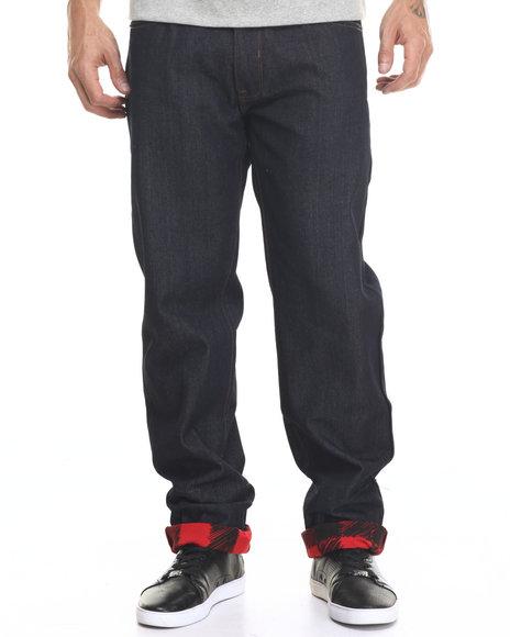 Rocawear Men Lifetime 2 Jeans Raw Wash 32