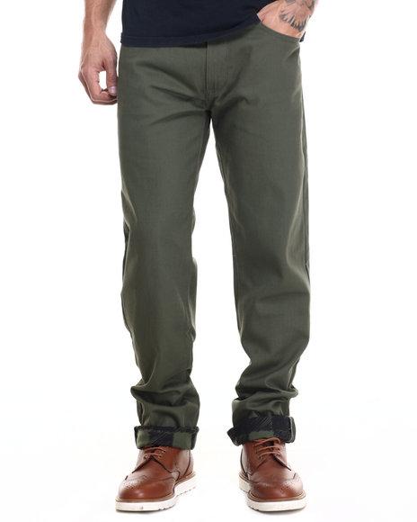 Rocawear - Men Green,Olive Lifetime 2 Jeans