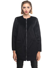 Jackets & Coats - Pray Reversible Faux Fur Coat