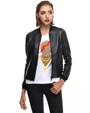Jackets & Coats - POLISSE W - Coated Bomber Jacket